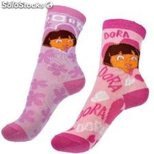 Dora l'exploratrice Pack 24 assorties Chaussettes