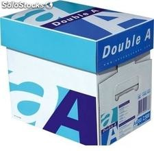 Double a Copy Papers 80gsm a4 Size (moq 8000 reams, 20fcl)