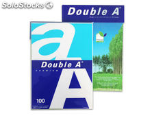 Double a paq. 100 hojas a4 80g ream100hj