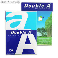 Double a paquete 100 hojas a4 80g a4ream100hj