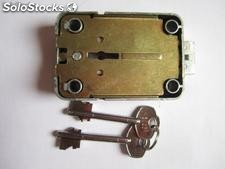 Double bitted key lock