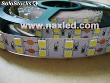 Double line 5050 flexible led lighting strips, ip33, 120leds/m, dc 24v