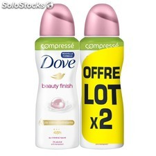 Dove deo compr.beauty 2X100ML