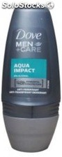 Dove Desodorante Roll-on 50 Ml. Aqua Impact Men