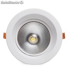 Downlight circular de leds anti-deslumbrante cob 15w 1500lm blanco neutro