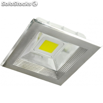 Downlight cuadrado led 20w 1
