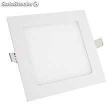 Downlight Cuadrado Superslim 9W 6000K