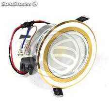 Downlight empotrable LED 10W 95mm dorado blanco día COB10W (NH75)