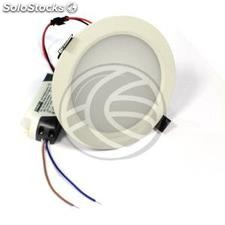 Downlight empotrable LED 12W 120mm blanco día SMD12W (NH82)