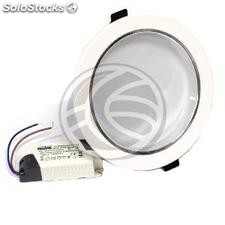 Downlight empotrable LED 12W 140mm blanco día 12x1W (NH94)
