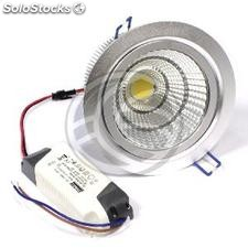Downlight empotrable LED 15W 120mm blanco día COB15W orientable (NH86)