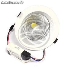 Downlight empotrable LED 15W 140mm blanco cálido COB15W (NH91-0002)