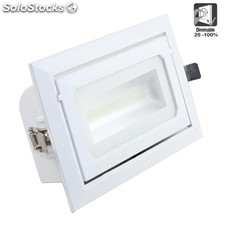 Downlight Empotrable led 36w orientable rectangular
