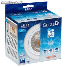 Downlight Empotrable Led Cob 5W 400Lm 3000K 85X50Mm Blanco Garza