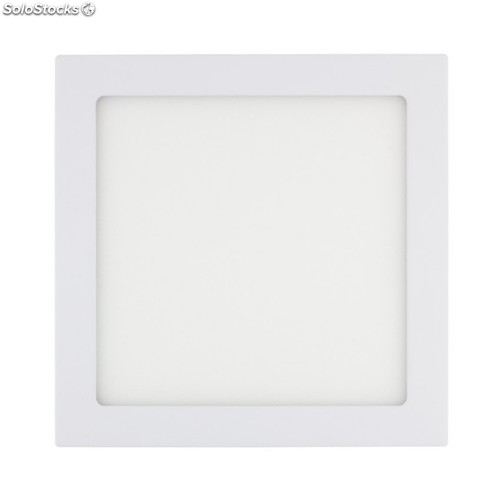 Downlight led 12W 3000-3500K empotrable cuadrado blanco