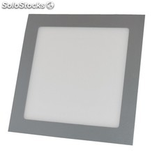 Downlight LED 12W 4000K empotrable cuadrado aluminio chip Led Osram