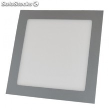 Downlight LED 12W 6000K empotrable cuadrado aluminio chip Led Osram