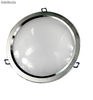 Downlight led 15w 1275 Lm 22,6 Cm. Nikel