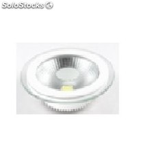 Downlight led 15w redondo