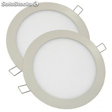 Downlight LED 18W 6000K Pack de 2 unidades