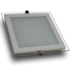 Downlight LED 18W Cristal Luz Cálida 1050Lm Panel Led Cuadrado 3000ºK - Foto 1