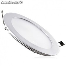 Downlight LED 6W 6000K empotrable redondo blanco