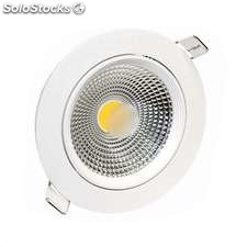 Downlight Led basic cob 10W, Blanco frío