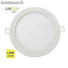Downlight led empotrable 18w 4000k aro blanco