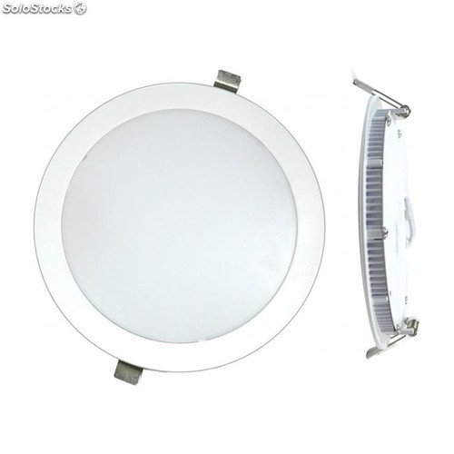 Downlight Led Empotrar Plano Blanco-4000K 12W