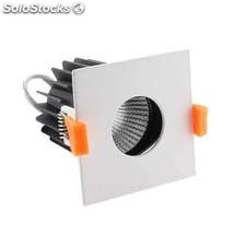 Downlight led hotel s cree 12w regulable blanco frío regulable