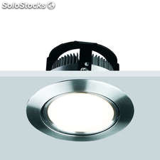 Downlight led petalas 7w blanco cálido