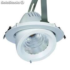 Downlight led pricklux tube 50w blanco cálido