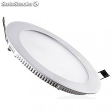 Downlight LED regulable 30W 6000K empotrable redondo blanco
