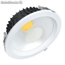 Downlight Led Round COB 30W, Blanco frío