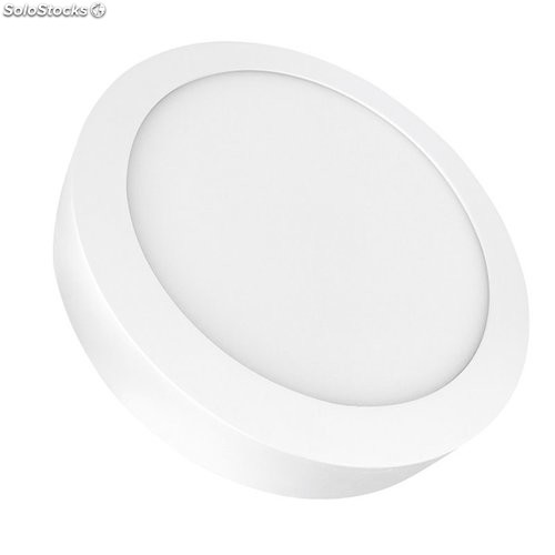 Downlight Led Superficie Redondo Blanco 4000K 20W 1500Lm