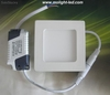 Downlight panel Cuadrado led 18w Blanco Calida / Frío ac220v /ac110v