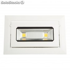 Downlight rectangular oscilante LED 13W