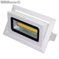 Downlight rectangular oscilante LED 30W