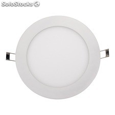 Downlight redondo blanco Damp LED 18W 3000K 1500Lm IP44 D22,5cm