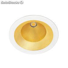 Downlight redondo blanco Solid Oro LED COB 16/26W 3000K 56º