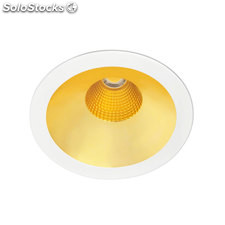 Downlight redondo gris Solid Oro LED COB 26W 3000K 1854Lm 30º regulable