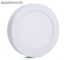 Downlight superficie circular, 18w