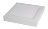 Downlight superficie cuadrado 18W color 4000K 225x37 plata LEDSMAX