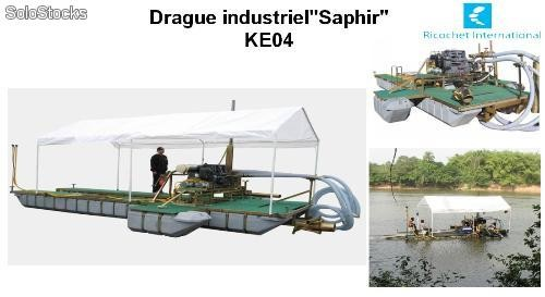drague industriel saphir ke04