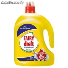 Dreft Dishwashing liquid 2.5l lemon