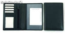 Drivinglicense Case Black Cowhide Leather
