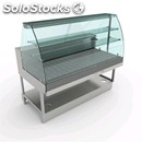 Dry heating snack counter - mod. vscsvac - semi finished, requires panelling -