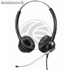 Dual headset compatible with Plantronics QD model KG08 (KG08)
