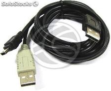 Dual usb 2.0 Cable 2:00 a.m. to mini usb power 1.2m (CU87)