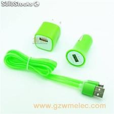 Dual Usb Port car charger for mobile phone